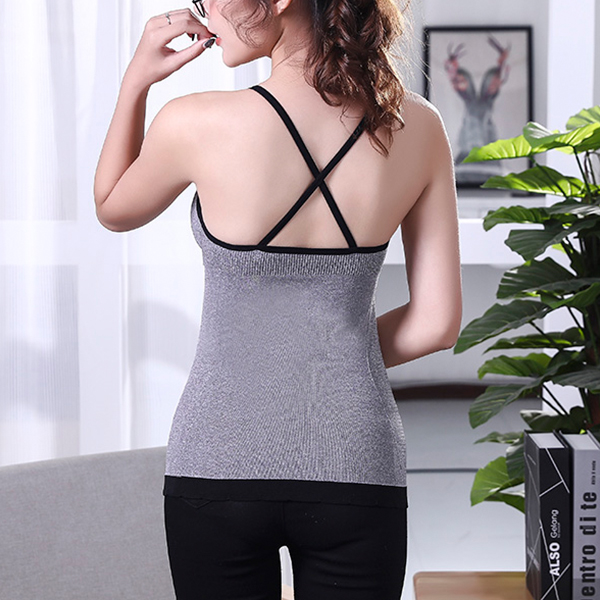 Full Length Bra Stretchable Easy Slimming West Blouse