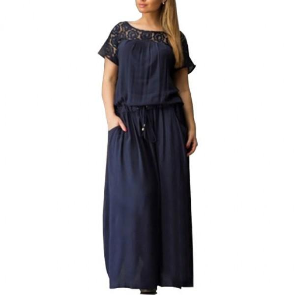 Long Maxi Plus Size Women Loose Party Dress