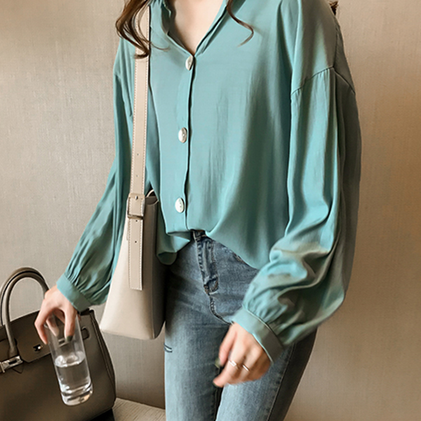 Button Up Long Sleeves Formal Wear Shirt
