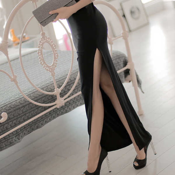 Sexy Party Wear Body Fitted Long Elegant Dress