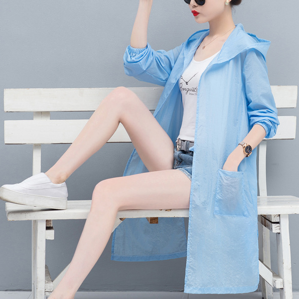 Sun Heat Protection Hoodie Summer Wear Outdoor Cardigan