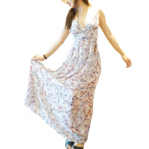 Beach Chic Long Maxi Off Shoulder Spaghetti Strap Dress