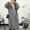 Full Sleeves Open Winter Cardigan - Grey