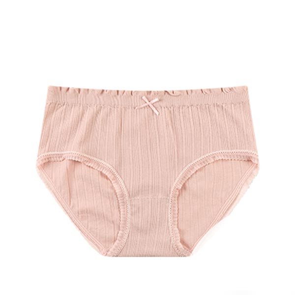 Seamless High Waist Triangle Anti Leakage Underwears - Pink