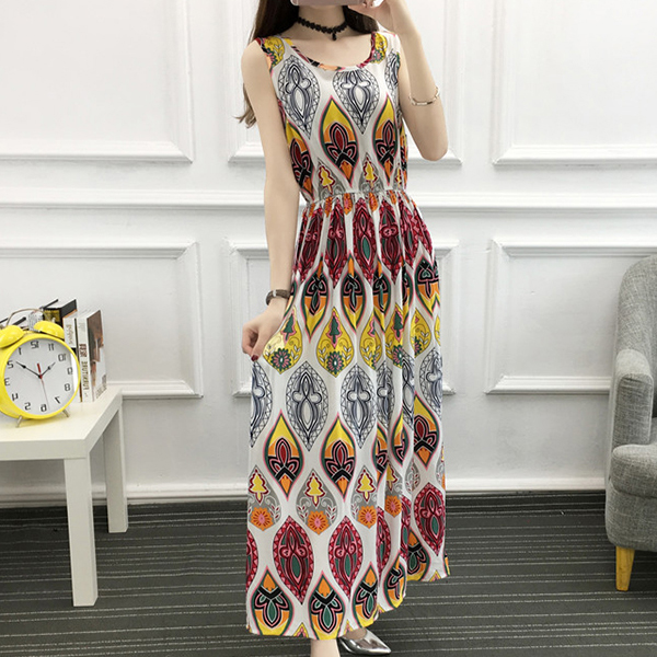 Bohemian Casual Beach Wear Summer Dress