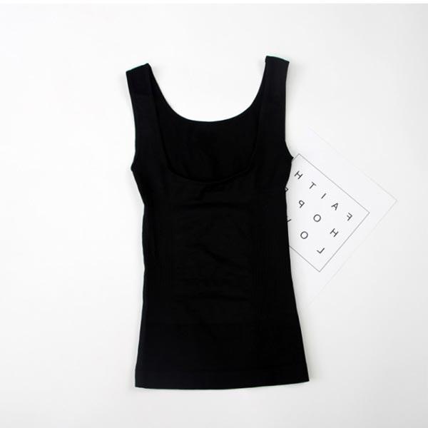 Humpback Slim Fat Seamless Body Shaping Corset - Black