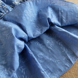 Beach Off Shoulder Top For Women Print Blue Butterfly Sleeve