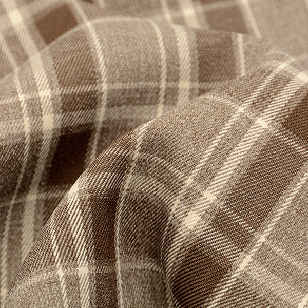 Printed Loose Waist Belt Trousers - Light Brown