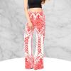 Beautiful Red Boho Design Printed Beach Pants