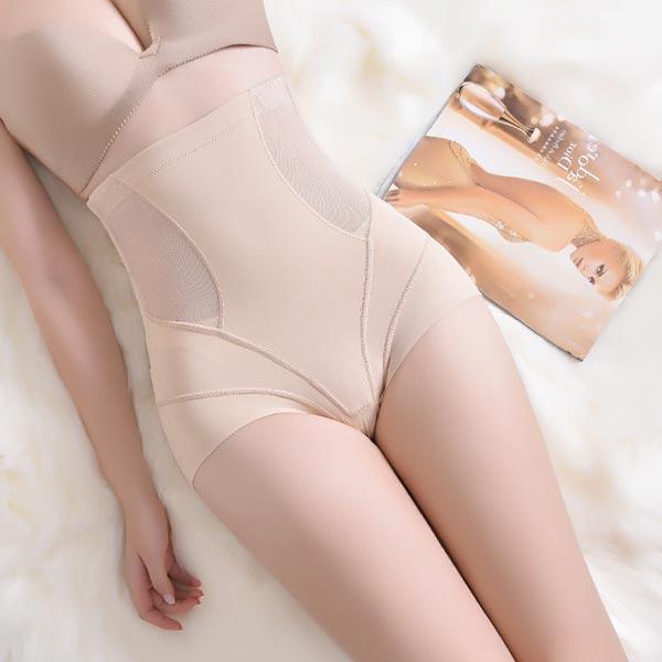 Body Sculpting Abdomen Panties Shaping Corset - Apricot