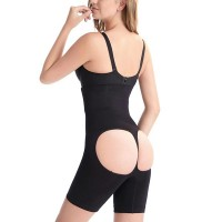 Body Sculpting Abdomen Panties Shaping Corset - Black