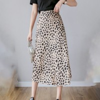 Leopard Texture Casual Wear Skirts - Multi Color