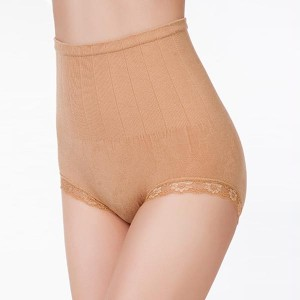 High Waist Body Sculpting Ladies Underwear - Khaki