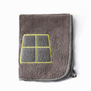 Thick Absorbent Kitchen Cleaning Hand Towel - Grey