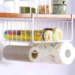 Easy Installation Space Saving Cabinet Rack - White