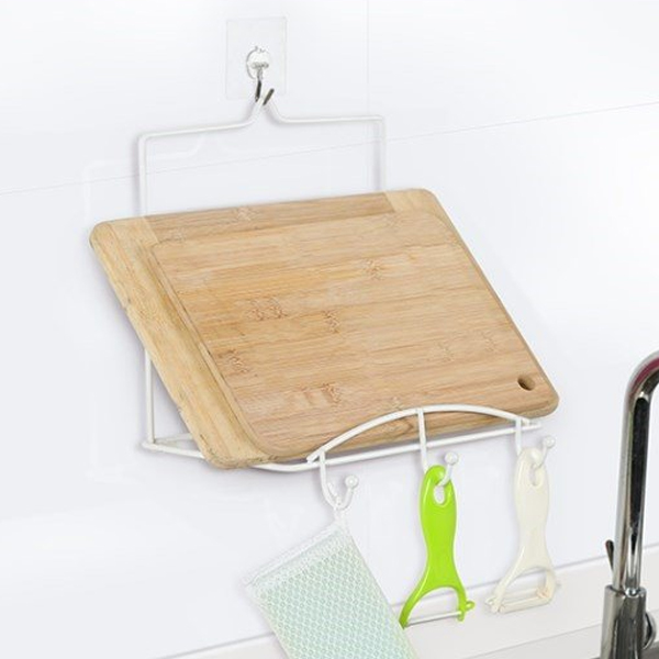Multipurpose Kitchen Creative Rack - White