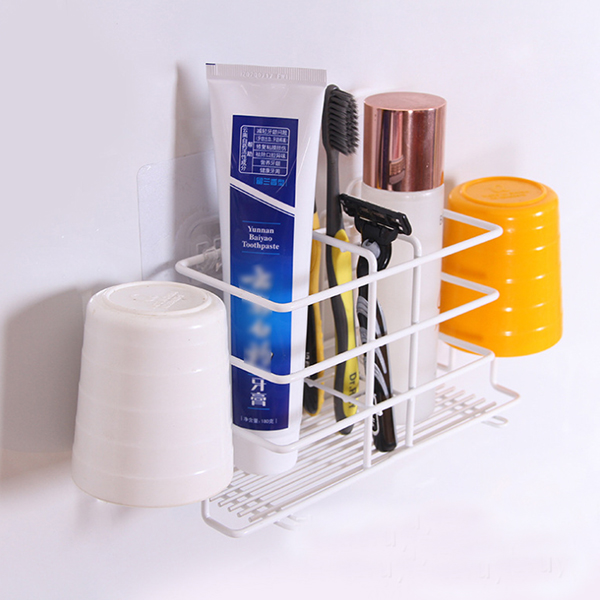 Creative Bathroom Easy Installation Rack - Two Colors