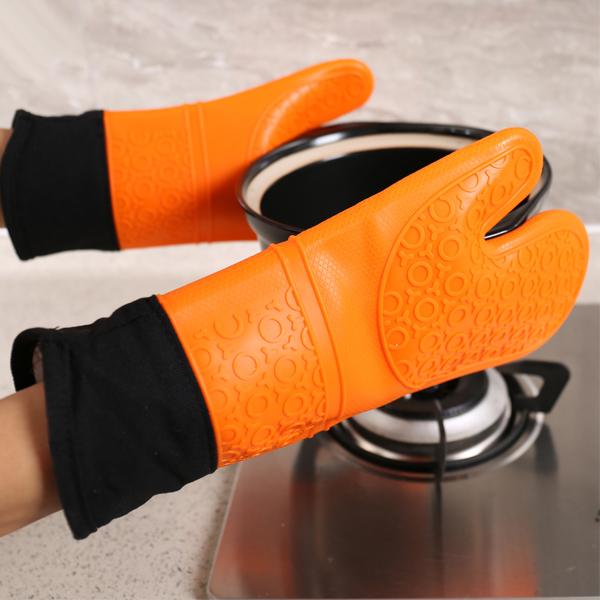 Silicon Heat Prevention Hand Gloves - One Piece