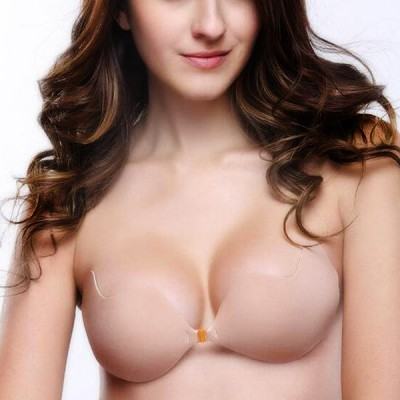Breathable Sexy Push Up Nylon Apricot Hot State-seamless Bra