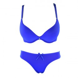 Beautiful Blue Bra and Breifs With New Look