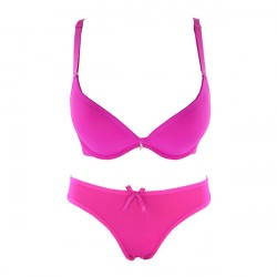 Hot Pink Bra and Breifs With New Look