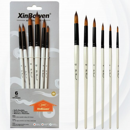 Art And Craft Painting Brushes Set - White