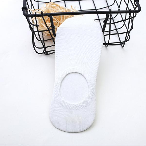 White Summer Wear Comfortable Socks Pair