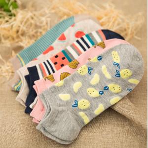 Casual Different Prints Summer Socks Bundle