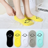Smiley Prints Five Pieces Socks Set