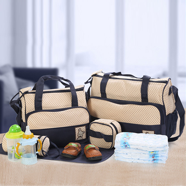 Baby Care Essentials Mother Bags Set
