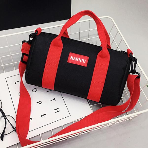 Water Resistant Mini Capsule Traveller Bags - Black