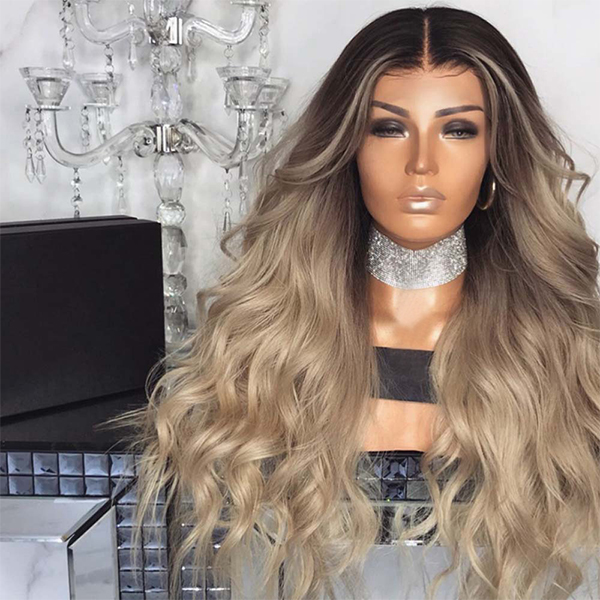 Hair Extensions Fancy High Quality Hair Wig - Light Brown