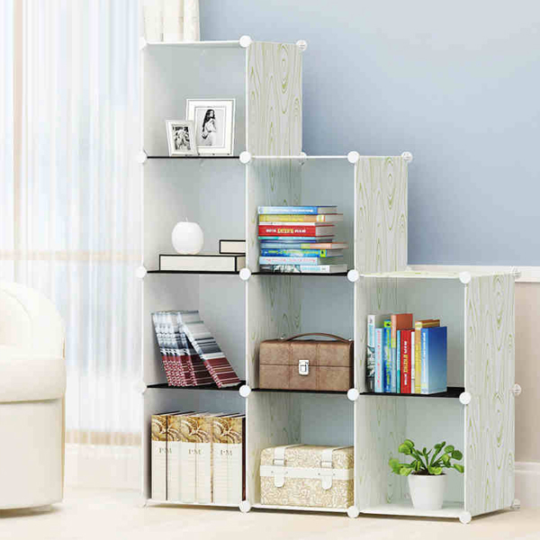 Nine Partition Multi Purpose Living Room Rack