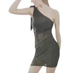 Trendy Black Comfortable Cool Lingerie Set For Women