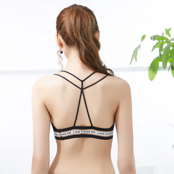 Two Pieces Lace Bohemian Lingerie Bra And Underwear