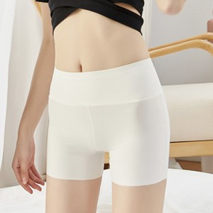 Comfortable No Trace Safety Female Underwear - White