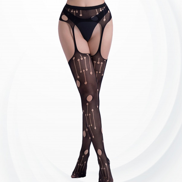Vintage Sexy Wear Transparent Net Stockings