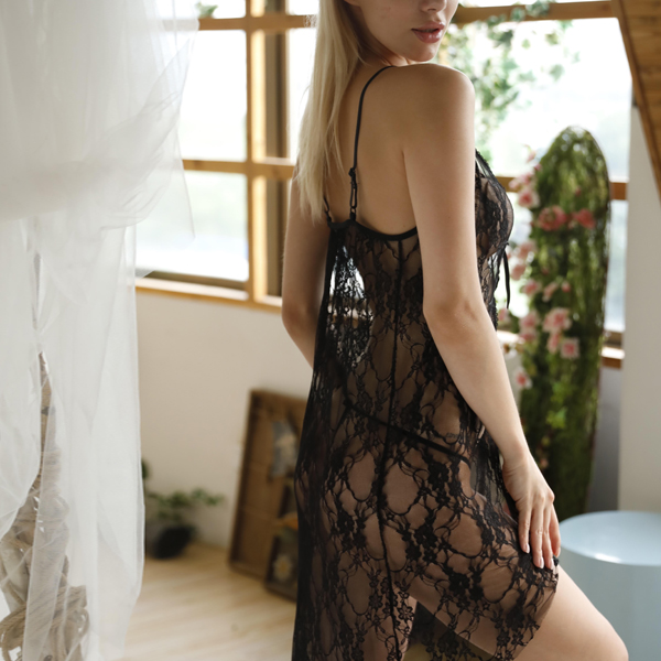 See Through Lace Summer Nights Sexy Lingerie