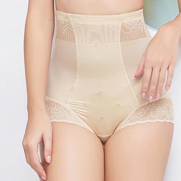 Belly Shaper High Waist Summer Long Underwear - Khaki