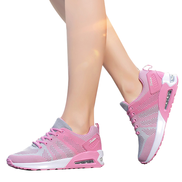Heavy Bottomed Comfortable Casual Running Shoes Pink