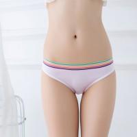 Rainbow Elastic Cheekster Casual Panty - Pink