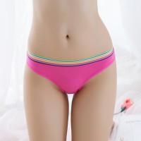 Rainbow Elastic Cheekster Casual Panty - Hot Pink