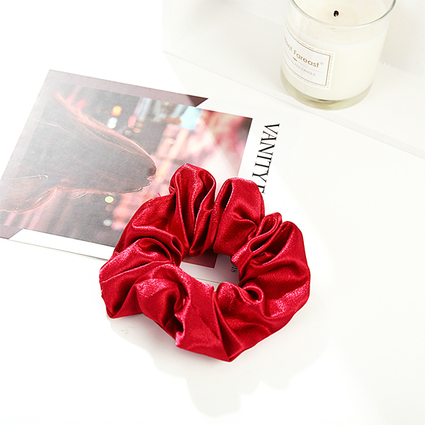Elastic Stretchable Soft Casual Wear Hair Band - Red