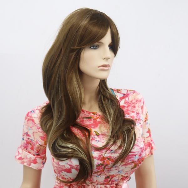 Long Straight Waves Hairs Womens Wigs - Medium Brown