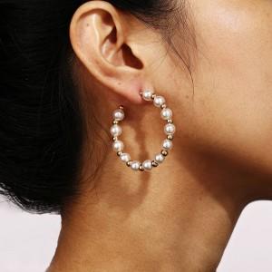Pearl Decorative Spherical Fancy Wear Earrings