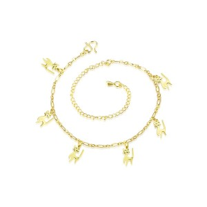 2017 Fashion Lady Cat Anklet Chain Foot Jewelry Chain