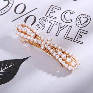 Vintage Fashion Golden Fancy Hair Clips - Bow