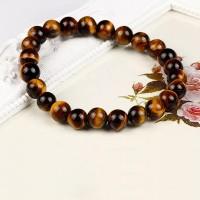 Lava Stone Buddha Beads Unisex Bracelets Brown