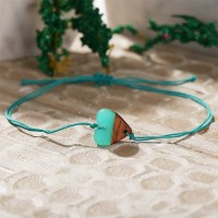 Thread Geometric Shaped Rope Bracelet - Heart