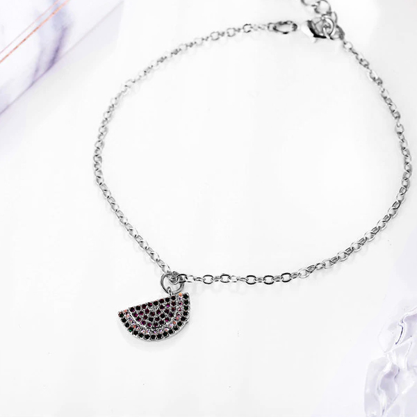 Cute Watermelon Shape Chain Bracelet
